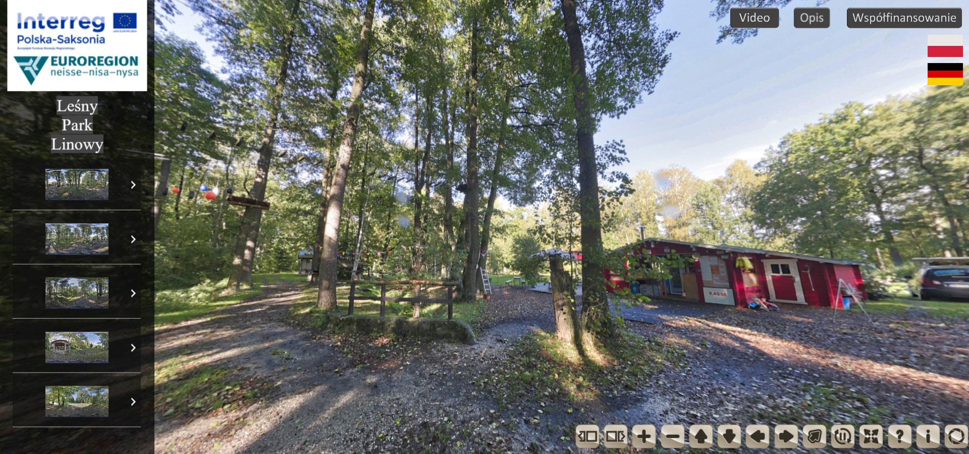 Leśny Park Linowy